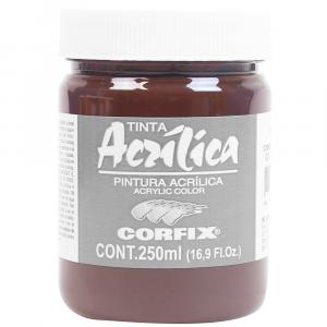 Tinta Acrílica Corfix 250ml  83 Sombra Queimada G1