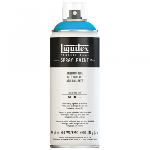 Tinta Acrílica Spray Liquitex 400ml 0570 Brilliant Blue