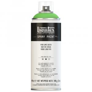 Tinta Acrílica Spray Liquitex 400ml 0740 Vivid Lime Green