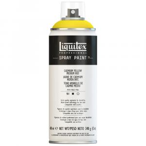 Tinta Acrílica Spray Liquitex 400ml 0830 Cadmium Yellow Medium Hue