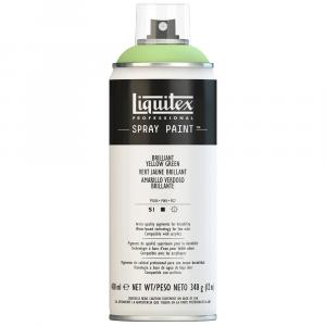Tinta Acrílica Spray Liquitex 400ml 0840 Brilliant Yellow Green
