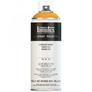 Tinta Acrílica Spray Liquitex 400ml 0982 Fluorescent Orange