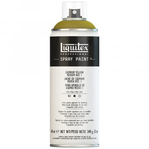 Tinta Acrílica Spray Liquitex 400ml 1830 Cadmium Yellow Medium Hue 1
