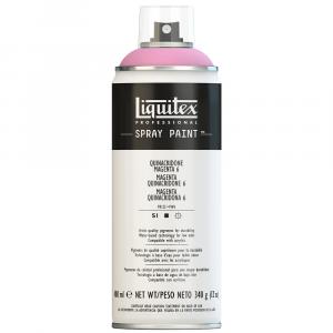 Tinta Acrílica Spray Liquitex 400ml 6114 Quinaquidrone Magenta 6