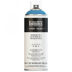 Tinta Acrílica Spray Liquitex 400ml 6320 Prussian Blue Hue 6