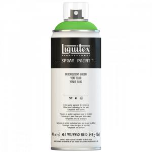 Tinta Acrílica Spray Liquitex 400ml 985 Fluorescent Green