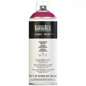 Tinta Acrílica Spray Liquitex 400ml 0114 Quinacridone Magenta