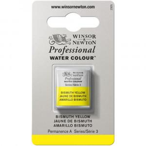 Tinta Aquarela Profissional Winsor & Newton Pastilha S3 025 Bismuth Yellow