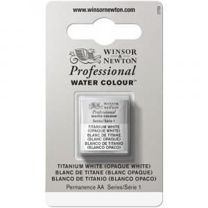 Tinta Aquarela Profissional Winsor & Newton Pastilha S1 644 Titanium White
