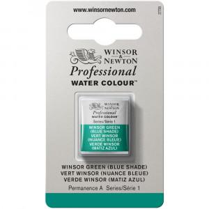 Tinta Aquarela Profissional Winsor & Newton Pastilha S1 719 Winsor Green (Blue Shade)