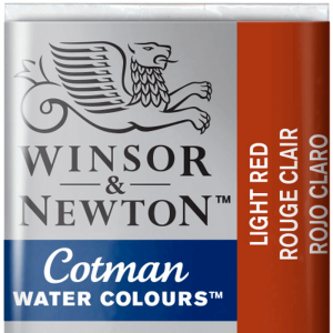 Tinta Aquarela Cotman W&N Pastilha 362 Light Red