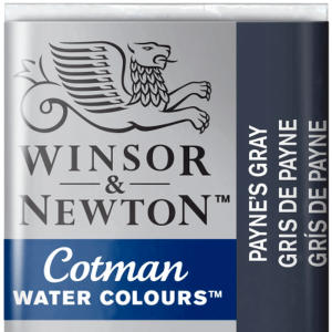 Aquarela Cotman W&N Pastilha 465 Payne's Gray