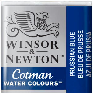 Aquarela Cotman W&N Pastilha 538 Prussian Blue