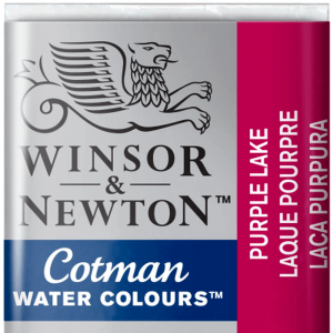 Tinta Aquarela Cotman W&N Pastilha 544 Purple Lake