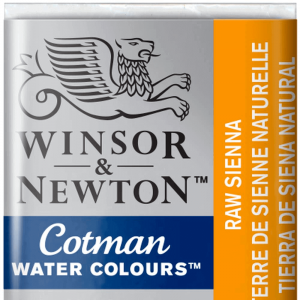 Aquarela Cotman W&N Pastilha 552 Raw Sienna