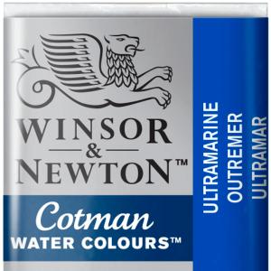 Tinta Aquarela Cotman W&N Pastilha 660 Ultramarine