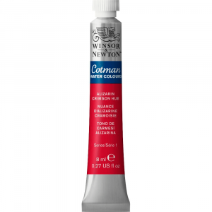 Aquarela Cotman W&N Tubo 8ml 003 Alizarin Crimson Hue
