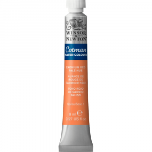 Aquarela Cotman W&N Tubo 8ml 103 Cadmium Red Pale Hue
