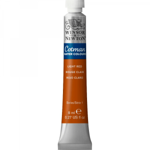 Aquarela Cotman W&N Tubo 8ml 362 Light Red