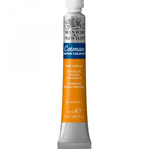 Tinta Aquarela Cotman W&N Tubo 8ml 552 Raw Sienna