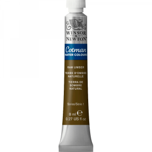Aquarela Cotman W&N Tubo 8ml 554 Raw Umber