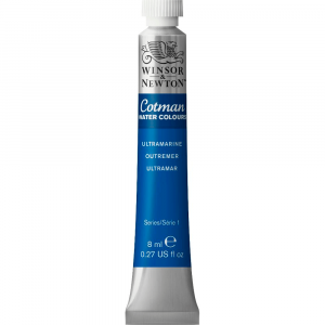 Tinta Aquarela Cotman W&N Tubo 8ml 660 Ultramarine