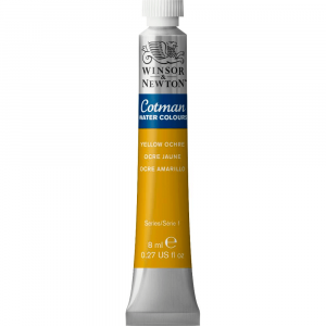 Tinta Aquarela Cotman W&N Tubo 8ml 744 Yellow Ochre