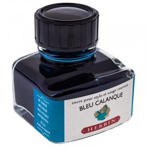 Tinta para Caneta Tinteiro Herbin La Perle des Encres 30ml Bleu Calanque