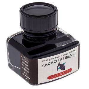 Tinta para Caneta Tinteiro Herbin La Perle des Encres 30ml Cacao Du Brésil
