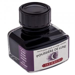 Tinta para Caneta Tinteiro Herbin La Perle des Encres 30ml Poussière de Lune