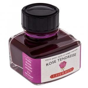 Tinta para Caneta Tinteiro Herbin La Perle des Encres 30ml Rose Tendresse