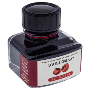 Tinta para Caneta Tinteiro Herbin La Perle des Encres 30ml Rouge Grenat
