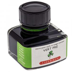 Tinta para Caneta Tinteiro Herbin La Perle des Encres 30ml Vert Pré