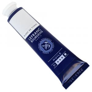 Tinta Óleo Fine Lefranc & Bourgeois 40ml 008 Titanium White