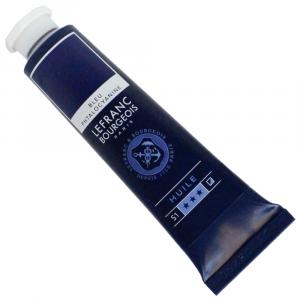 Tinta Óleo Fine Lefranc & Bourgeois 40ml 095 Phthalocyanine Blue