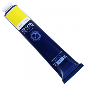 Tinta Óleo Fine Lefranc & Bourgeois 150ml 169 Lemon Yellow