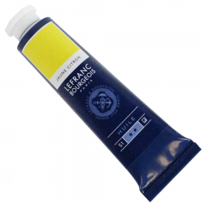 Tinta Óleo Fine Lefranc & Bourgeois 40ml 169 Lemon Yellow
