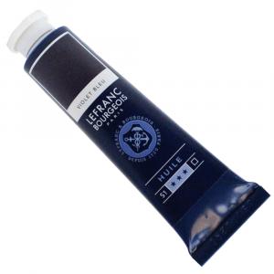 Tinta Óleo Fine Lefranc & Bourgeois 40ml 604 Blue Violet