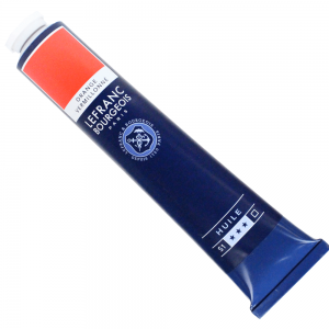 Tinta Óleo Fine Lefranc & Bourgeois 150ml 697 Vermillion Orange