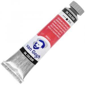 Tinta Óleo Van Gogh 20ml 314 Cadmium Red Medium