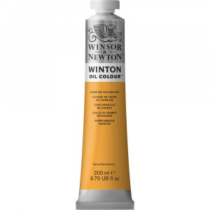 Tinta Óleo Winton 200ml Winsor & Newton 109 Cadmium Yellow Hue