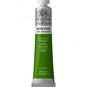 Tinta Óleo Winton 200ml Winsor & Newton 145 Chrome Green Hue