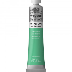 Tinta Óleo Winton 200ml Winsor & Newton 241 Emerald Green