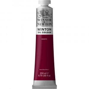 Tinta Óleo Winton 200ml Winsor & Newton 380 Magenta
