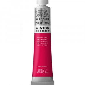 Tinta Óleo Winton 200ml Winsor & Newton 502 Permanent Rose