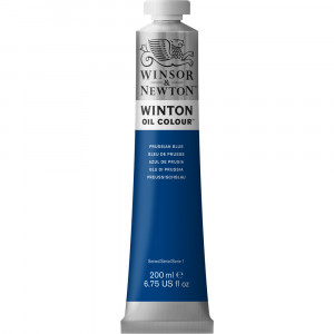 Tinta Óleo Winton 200ml Winsor & Newton 538 Prussian Blue