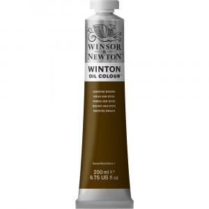 Tinta Óleo Winton 200ml Winsor & Newton 676 Vandyke Brown