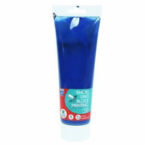 Tinta Para Linoleogravura Lefranc & Bourgeois 250ml 910 Brilliant Blue