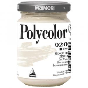 Tinta Acrílica Polycolor Maimeri 140ml 020 Zinc White