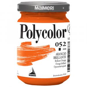 Tinta Acrílica Polycolor Maimeri 140ml 052 Brilliant Orange